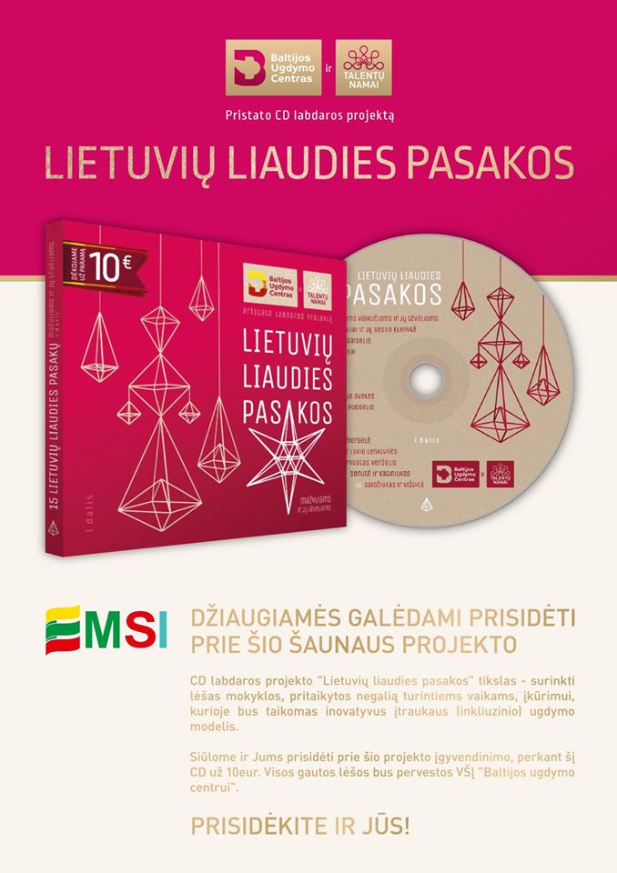 Lietuvių liaudies PASAKOS – visose EMSI degalinėse!